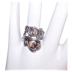 Avon Sterling Silver Ring of Hearts