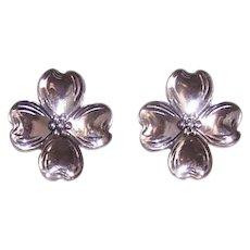 Beau Sterling Silver Earrings
