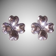 Beau Sterling Silver Earrings