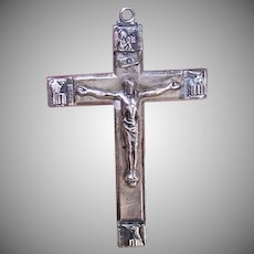 Creed Sterling Silver Rosary Cross