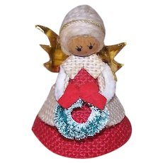 Vintage Wood Christmas Ornament