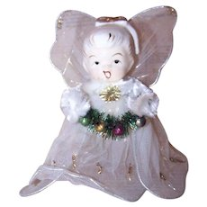 Ceramic Angel Tree Topper