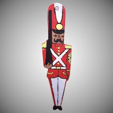 Hand Painted Wooden Soldier