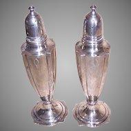 Sterling Silver Salt Pepper Shakers
