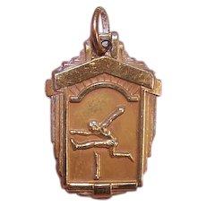 1945 Sterling Silver Hurdles Medal