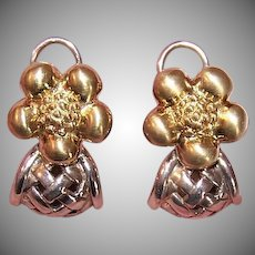 Saint by Sarah Jane 18K Gold Earrings