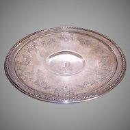 Gorham Sterling Silver Pedestal Plate