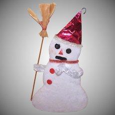 Retro Japan Snowman Ornament