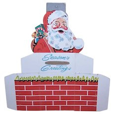 Vintage Santa Claus Christmas Bank