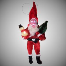 Chenille Clay Face Santa Claus
