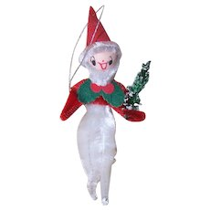 Japan Spun Cotton Elf Ornament