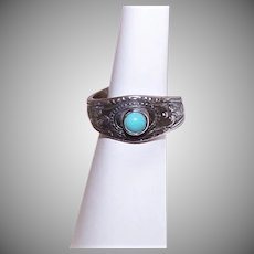 Towle Sterling Silver Turquoise Ring