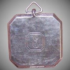 Webster Co Sterling Picture Locket