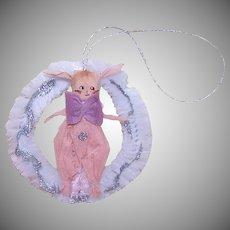 Art Deco Easter Bunny Ornament