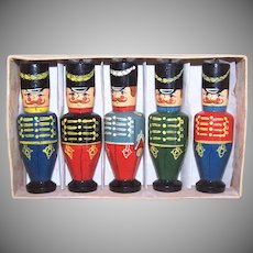 Russian Painted Wooden Soldiers