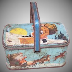 Tindeco Night Before Christmas Tin Box