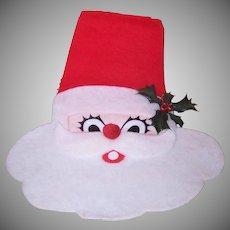 Santa Claus Fabric Wall Decoration