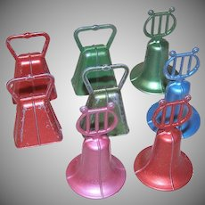 Set of 8 Christmas Bells by Bruce