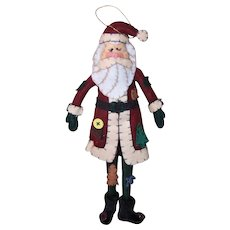 Vintage Santa Claus Wall Decoration
