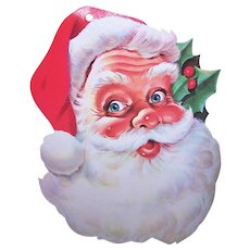 Vintage Santa Claus Decoration