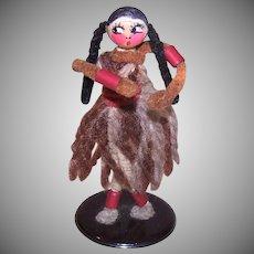 Art Deco Celluloid Pocahontas Figure