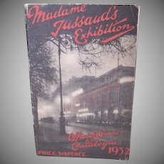 1932 Madame Tussauds Guide