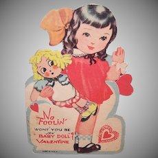 Baby Doll Mechanical Valentine