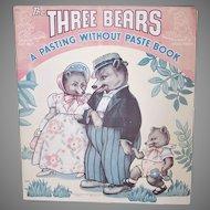 Three Bears Activity Book