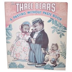Three Bears Activity Book