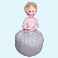 Art Deco Boudoir Pin Cushion Doll