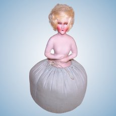 Art Deco Boudoir Pin Cushion Doll