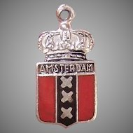 885 Silver Amersterdam Charm