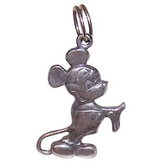 Disney Sterling Silver Mickey Mouse Charm