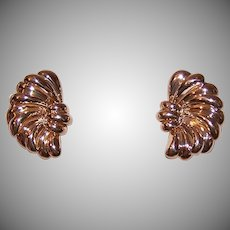 Dankner 14K Gold Pierced Earrings