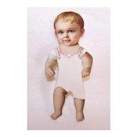 Antique Victorian Die Cut Handmade Infant Boy Paper Doll