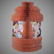 Art Deco Honeycomb Valentine with Cherubs