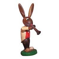 Vintage Erzgebirge Rabbit Decoration