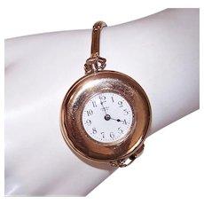 Antique Ideal Gold Filled Wrist Watch