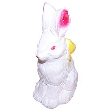Carnival Chalkware Easter Bunny Figure