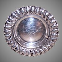 Howard Sterling Co Candy Bowl Monogram MJG