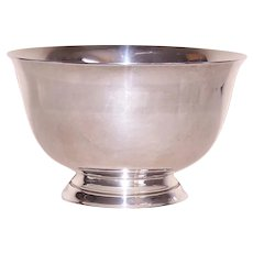 1960s Tiffany & Co Sterling Silver Candy Bowl Paul Revere Style Design 23615