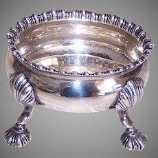 C.1766 Georgian English Sterling Silver Master Salt