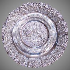 Hazorfim Sterling Silver Repousse Candy Bowl