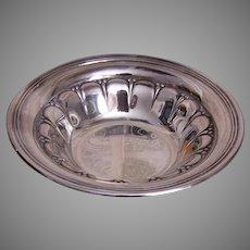 Vintage Gorham Sterling Silver Candy Bowl