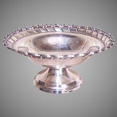 A Ceron Taxco Mexico Sterling Silver Pedestal Bowl