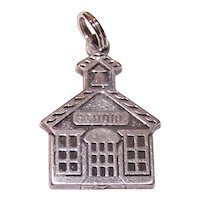 Sterling Silver Charm - The Old School House