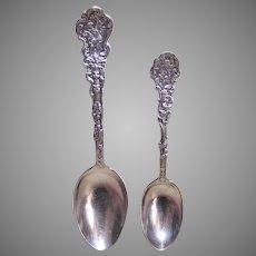 2 Pcs Gorham Versaille Sterling Silver - Mono B