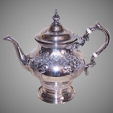 Antique Gorham Chantilly Countess Sterling Silver Teapot