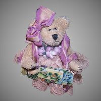 Hand Decorated Boyds Bear Victorian Revival