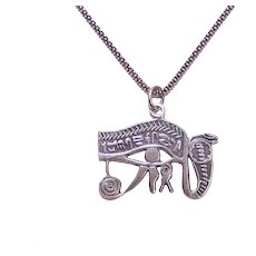 Vintage 800 Silver Egyptian Pendant